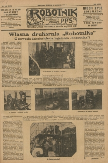 Robotnik : centralny organ P.P.S. R.34, nr 326 (18 listopada 1928) = nr 3533