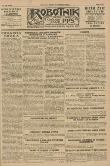 Robotnik : centralny organ P.P.S. R.34, nr 332 (24 listopada 1928) = nr 3539