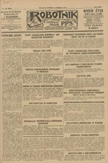 Robotnik : centralny organ P.P.S. R.34, nr 335 (27 listopada 1928) = nr 3542