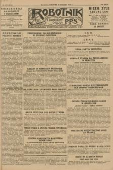 Robotnik : centralny organ P.P.S. R.34, nr 337 (29 listopada 1928) = nr 3544