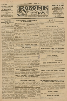 Robotnik : centralny organ P.P.S. R.36 [i.e. 34], nr 345 (7 grudnia 1928) = nr 3552