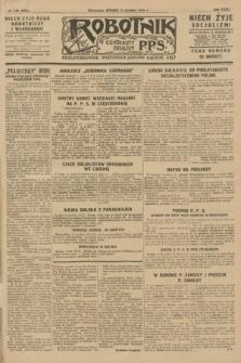 Robotnik : centralny organ P.P.S. R.36 [i.e. 34], nr 348 (11 grudnia 1928) = nr 3555