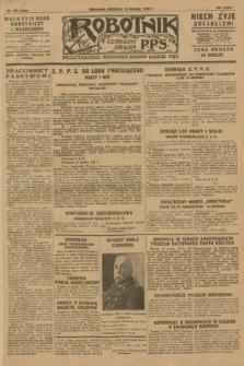 Robotnik : centralny organ P.P.S. R.36 [i.e. 34], nr 353 (16 grudnia 1928) = nr 3560