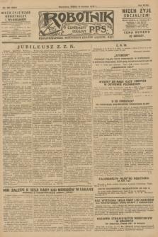 Robotnik : centralny organ P.P.S. R.36 [i.e. 34], nr 356 (19 grudnia 1928) = nr 3563