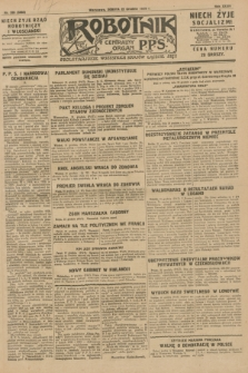 Robotnik : centralny organ P.P.S. R.34, nr 359 (22 grudnia 1928) = nr 3566