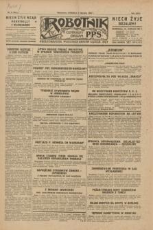 Robotnik : centralny organ P.P.S. R.35, nr 6 (6 stycznia 1929) = nr 3579