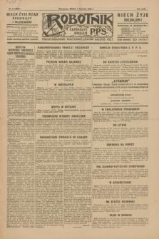Robotnik : centralny organ P.P.S. R.35, nr 9 (9 stycznia 1929) = nr 3582