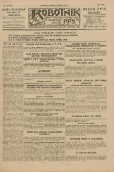 Robotnik : centralny organ P.P.S. R.35, nr 15 (15 stycznia 1929) = nr 3587