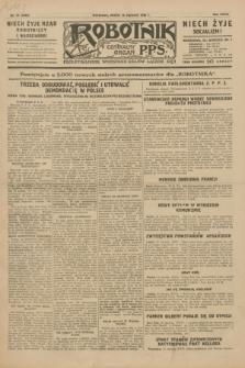 Robotnik : centralny organ P.P.S. R.35, nr 16 (16 stycznia 1929) = nr 3588
