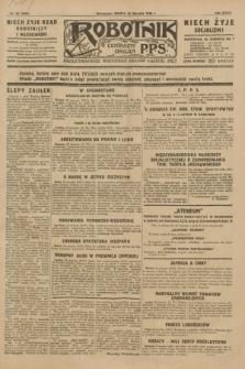 Robotnik : centralny organ P.P.S. R.35, nr 26 (26 stycznia 1929) = nr 3598