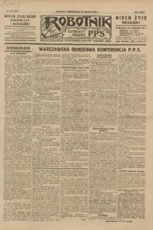 Robotnik : centralny organ P.P.S. R.35, nr 28 (28 stycznia 1929) = nr 3599