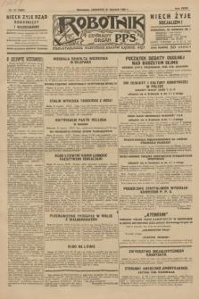 Robotnik : centralny organ P.P.S. R.35, nr 31 (31 stycznia 1929) = nr 3602