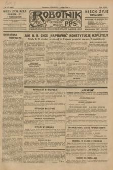 Robotnik : centralny organ P.P.S. R.35, nr 37 (7 lutego 1929) = nr 3608