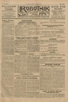 Robotnik : centralny organ P.P.S. R.35, nr 39 (9 lutego 1929) = nr 3610