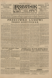 Robotnik : centralny organ P.P.S. R.35, nr 42 (12 lutego 1929) = nr 3613