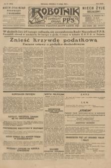 Robotnik : centralny organ P.P.S. R.35, nr 47 (17 lutego 1929) = nr 3618
