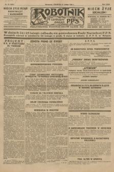 Robotnik : centralny organ P.P.S. R.35, nr 51 (21 lutego 1929) = nr 3622