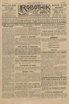 Robotnik : centralny organ P.P.S. R.35, nr 52 (22 lutego 1929) = nr 3623