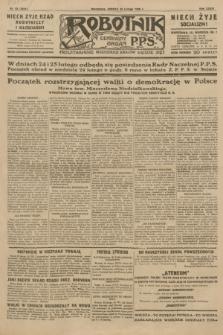 Robotnik : centralny organ P.P.S. R.35, nr 53 (23 lutego 1929) = nr 3624