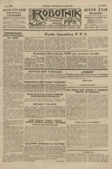 Robotnik : centralny organ P.P.S. R.35, nr 55 (25 lutego 1929) = nr 3626