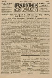 Robotnik : centralny organ P.P.S. R.35, nr 58 (28 lutego 1929) = nr 3629