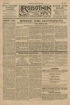 Robotnik : centralny organ P.P.S. R.35, nr 60 (2 marca 1929) = nr 3631