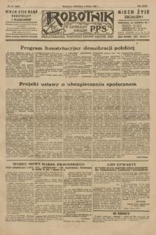 Robotnik : centralny organ P.P.S. R.35, nr 61 (3 marca 1929) = nr 3632