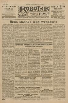 Robotnik : centralny organ P.P.S. R.35, nr 62 (4 marca 1929) = nr 3633