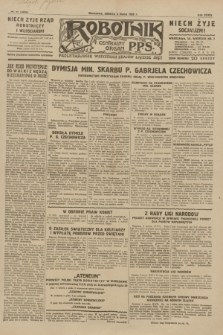 Robotnik : centralny organ P.P.S. R.35, nr 67 (9 marca 1929) = nr 3638
