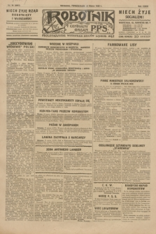 Robotnik : centralny organ P.P.S. R.35, nr 76 (18 marca 1929) = nr 3647
