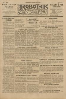 Robotnik : centralny organ P.P.S. R.35, nr 77 (19 marca 1929) = nr 3648
