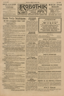 Robotnik : centralny organ P.P.S. R.35, nr 78 (20 marca 1929) = nr 3649