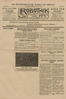 Robotnik : centralny organ P.P.S. R.35, nr 99 (11 kwietnia 1929) = nr 3671 (po konfiskacie nakład drugi)