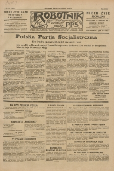 Robotnik : centralny organ P.P.S. R.35, nr 107 (17 kwietnia 1929) = nr 3679
