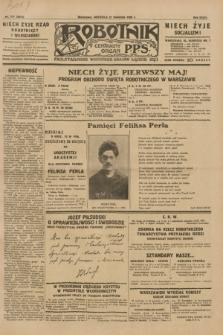 Robotnik : centralny organ P.P.S. R.35, nr 111 (21 kwietnia 1929) = nr 3673