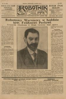 Robotnik : centralny organ P.P.S. R.35, nr 112 (22 kwietnia 1929) = nr 3674