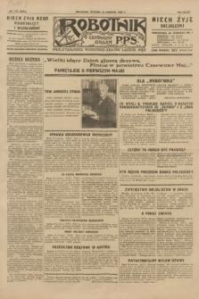 Robotnik : centralny organ P.P.S. R.35, nr 113 (23 kwietnia 1929) = nr 3675
