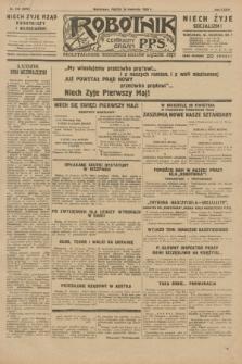 Robotnik : centralny organ P.P.S. R.35, nr 116 (26 kwietnia 1929) = nr 3678