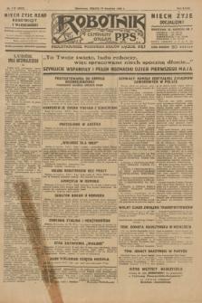 Robotnik : centralny organ P.P.S. R.35, nr 117 (27 kwietnia 1929) = nr 3679