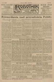 Robotnik : centralny organ P.P.S. R.35, nr 124 (4 maja 1929) = nr 3686