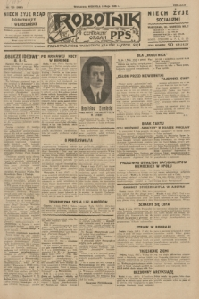 Robotnik : centralny organ P.P.S. R.35, nr 125 (5 maja 1929) = nr 3687