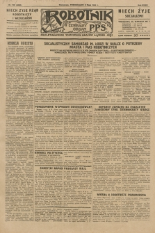 Robotnik : centralny organ P.P.S. R.35, nr 126 (6 maja 1929) = nr 3688