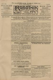Robotnik : centralny organ P.P.S. R.35, nr 130 (9 maja 1929) = nr 3692 (po konfiskacie nakład drugi)