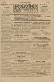 Robotnik : centralny organ P.P.S. R.35, nr 139 (17 maja 1929) = nr 3701