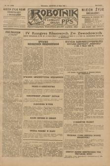 Robotnik : centralny organ P.P.S. R.35, nr 144 (23 maja 1929) = nr 3706