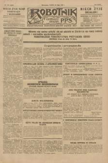 Robotnik : centralny organ P.P.S. R.35, nr 145 (24 maja 1929) = nr 3707