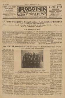 Robotnik : centralny organ P.P.S. R.35, nr 147 (26 maja 1929) = nr 3709