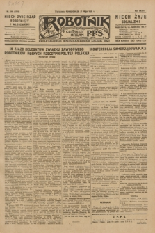 Robotnik : centralny organ P.P.S. R.35, nr 148 (27 maja 1929) = nr 3710