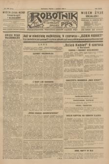 Robotnik : centralny organ P.P.S. R.35, nr 158 (7 czerwca 1929) = nr 3719