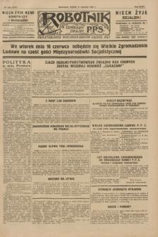 Robotnik : centralny organ P.P.S. R.35, nr 165 (14 czerwca 1929) = nr 3727